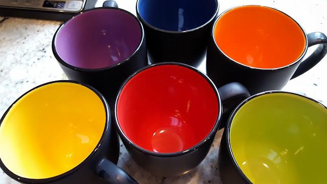 ITI Ceramic Bistro Hilo Mugs