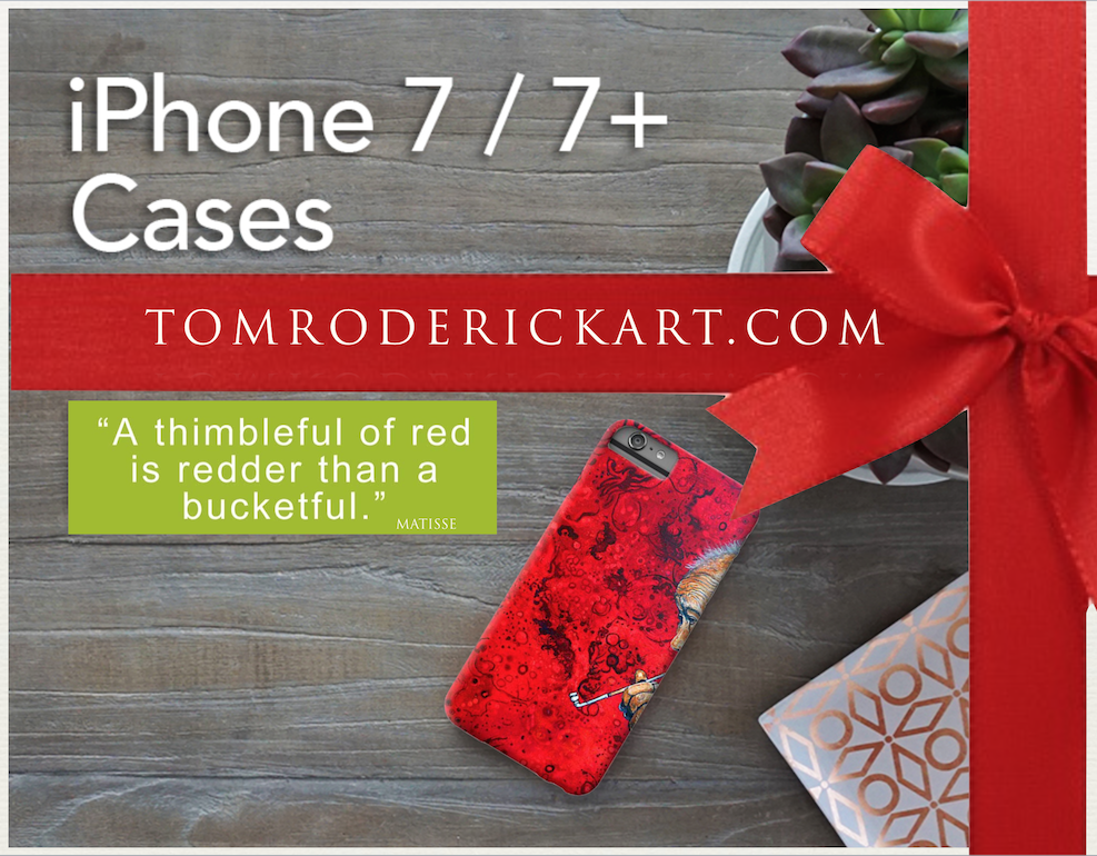 iPhone 7 Cases by TomRoderickArt