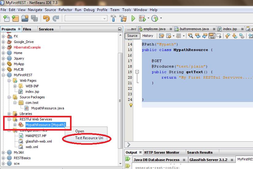 Programming World: Java WebService Tutorial - Part 11