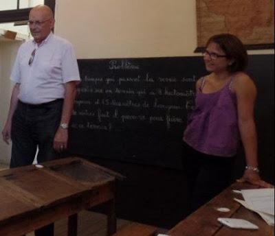 Nadia Bogenez et Hugues de Varine, accompagnateurs du groupe