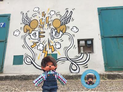 bubbles le Monchhichi à la recherche des Gouzou de Jace à Le Havre