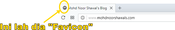 Tutorial : Ubah Favicon Blog