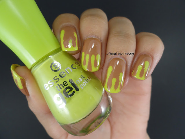Caramel Apple Manicure | Halloweenicures