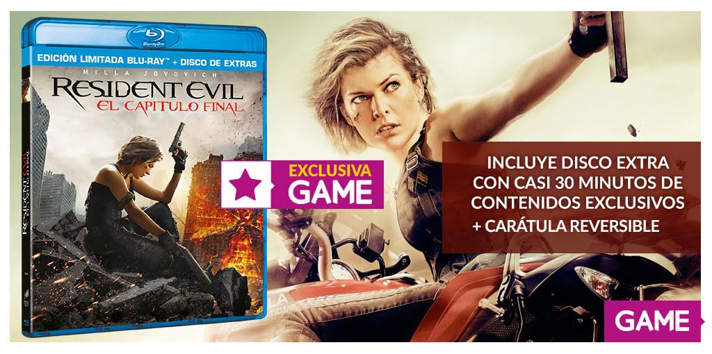 Resident Evil: El capítulo Final disponible mañana en DVD, Blu-ray y 4K