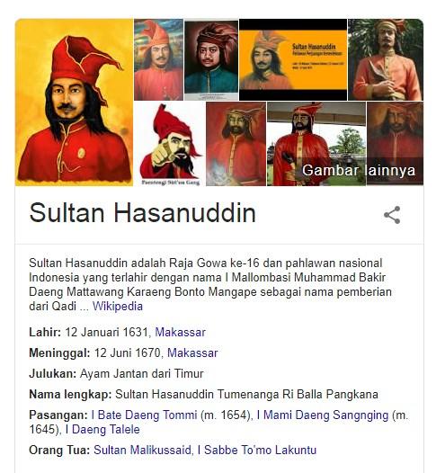 13 Fakta Menarik Tentang Sultan Hasanuddin Salah Satu Pahlawan Indonesia