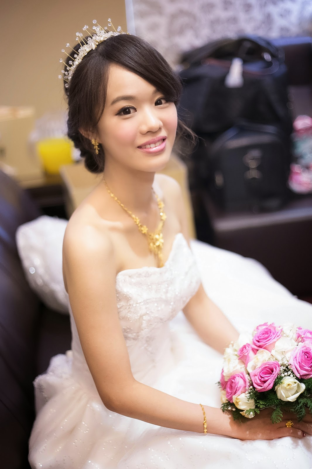 新竹新秘推薦 淑如-湘淳結婚髮妝設計