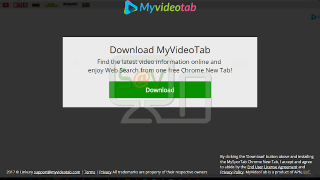 MyVideoTab (New Tab)