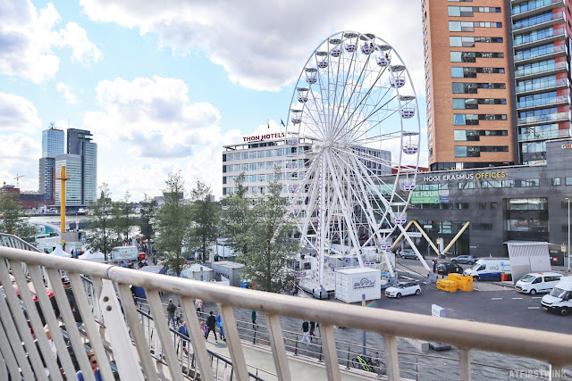Rotterdam world port days ferris wheel