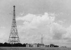 Photograph from a A postcard of the BBC's Brookmans Park Transmitting Station 1930s Image courtesy of Peter Miller collection