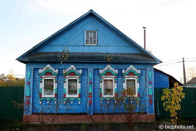 углич деревянные дома