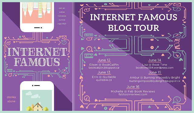 Internet Famous Blog Tour postcard