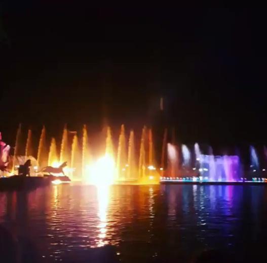 Air Mancur Sri Baduga Maharaja wisata Purwakarta