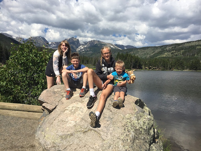 Sprague Lake, Rocky Mountain National Park, Colorado