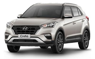 2017 Hyundai Creta Facelift front view