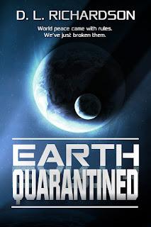 Book Showcase: Earth quarantined by D L Richardson