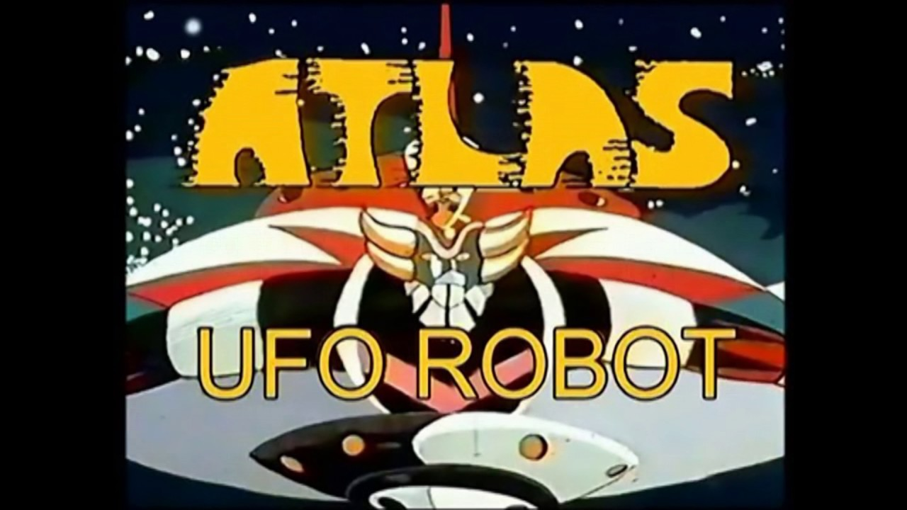 Atlas ufo robot dvd anime cartoni animati goldrake sconto del