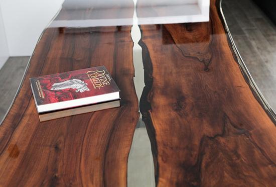 contoh meja epoxy