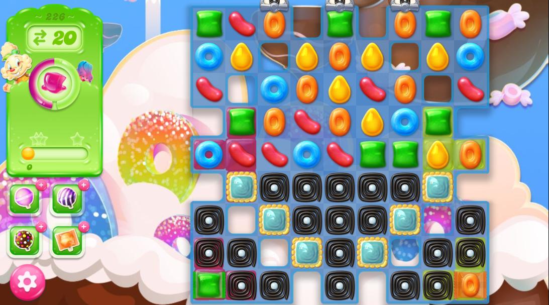 Candy Crush Jelly Saga 226