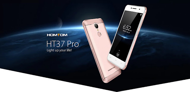 Coupon Homtom HT37 Pro 3/32GB for just $69.99