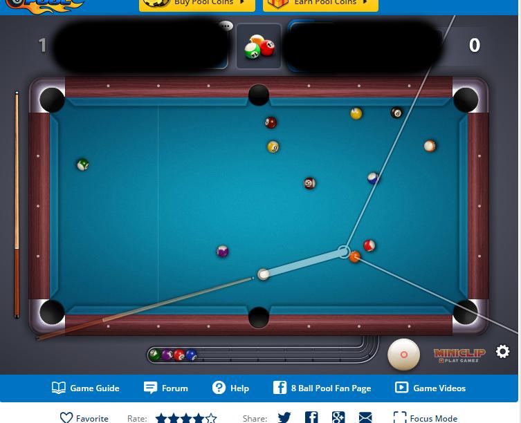 8 ball pool hack game