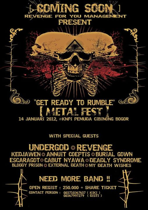 Get Ready To Rumble METAL FEST