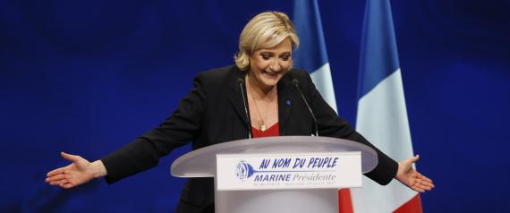 اليمين المتطرف Picture: زعيمة اليمين المتطرف في فرنسا مارين لوبان تفجِّر مفاجأة
