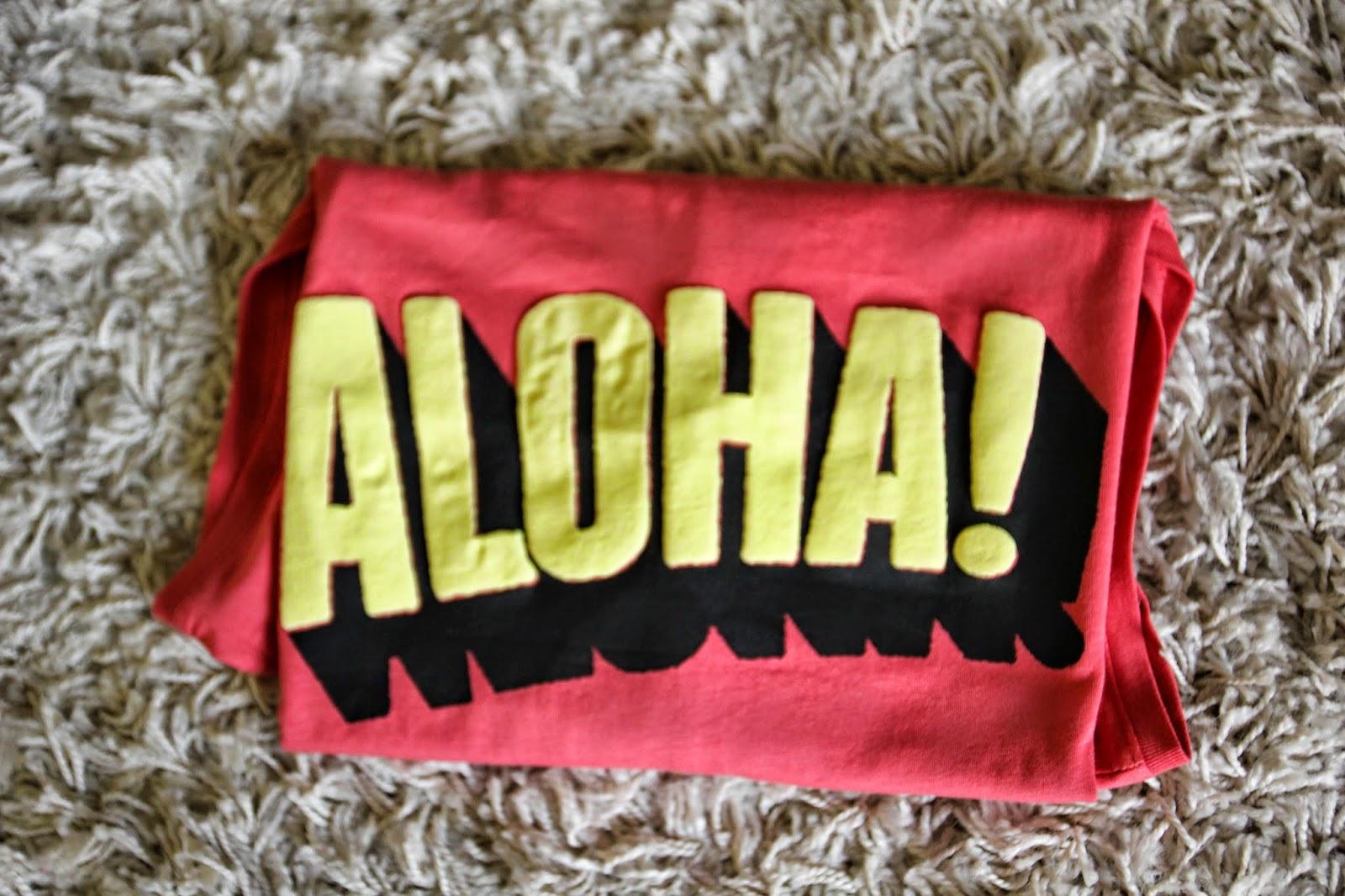 Podkoszulek Aloha