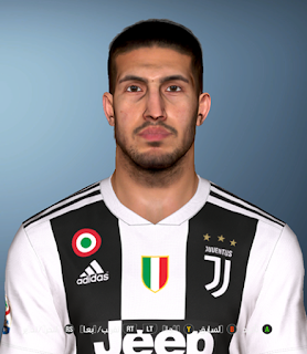 PES 2017 Faces Emre Can by Facemaker Ahmed El Shenawy