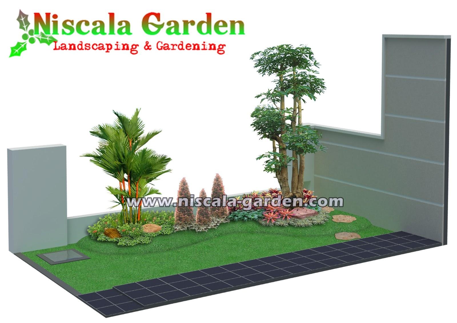 45 Desain Taman Tropis Modern NISCALA GARDEN Tukang Taman Surabaya