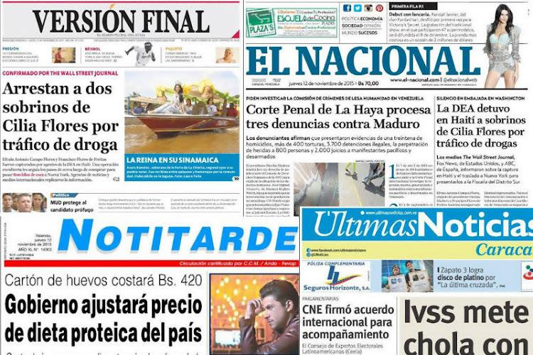 Prensa en Venezuela