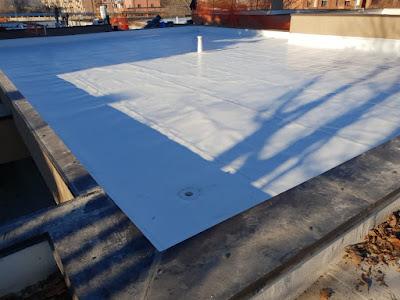 Posa di membrana PVC TPO