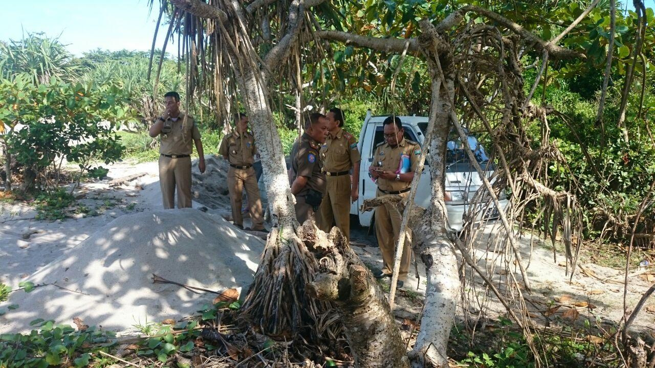Pemkab Pesbar Tutup Dua Tambang Pasir Illegal