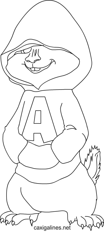 Imagenes De Dibujos Animados Alvin Y Las Ardillas