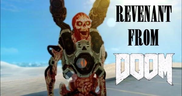 Skin Revenant From Doom 2016 | GTAind - Mod GTA Indonesia