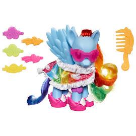 MLP Fashion Style Rainbow Dash Brushable Pony