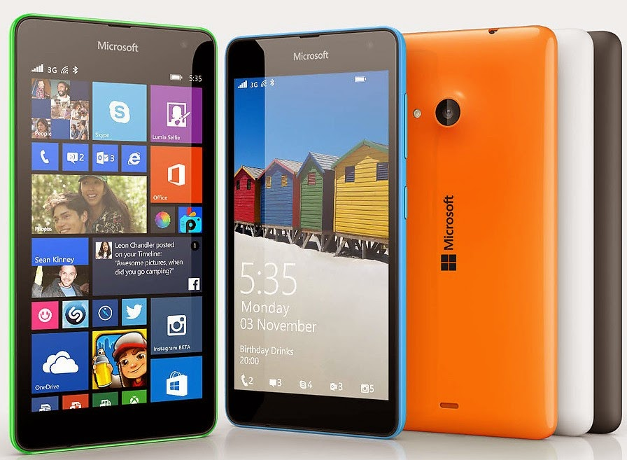 Microsoft Lumia 535 UnBoxing and Specifications price for Rs. 9,199 | MobileTalkNews