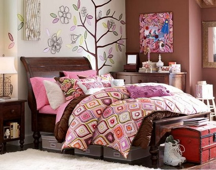 Pink Bedrooms Ideas 4