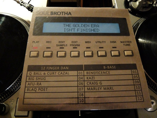 SoulBrotha-The Golden Era Isn't Finishedのレコードです。