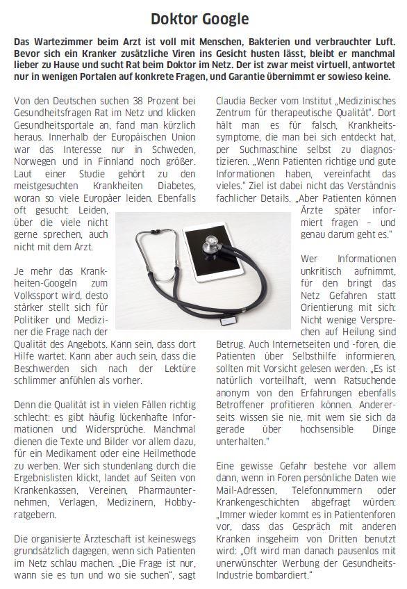 Deutsch Global Leseverstehen Teil 3 Goethe Zertifikat B2