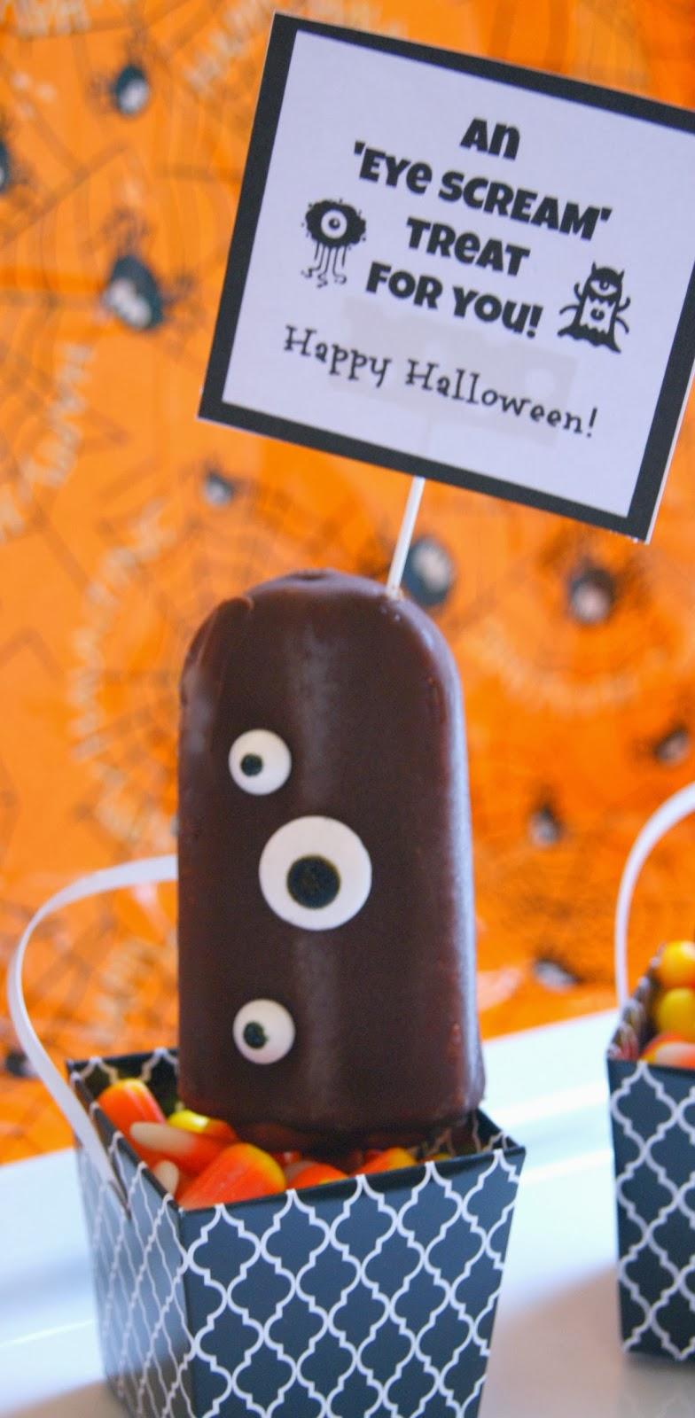 Wicked Craft Week: 'Eye Scream' Ice Cream Halloween Treats