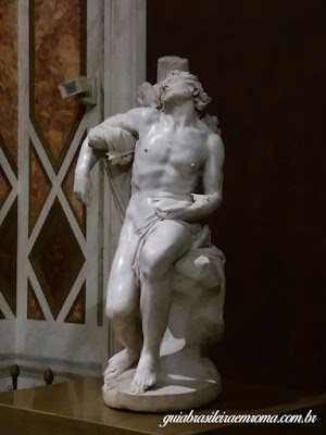 São Sebastião, Bernini, guia brasileira em Roma