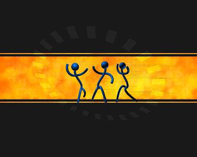 monigotes-peleandose