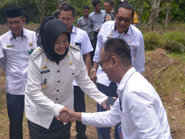 Wabup Sinjai Lakukan Peletakan Batu Pertama Pembangunan RKB Madrasah Aliah Al Ikhwan Sinjai Borong