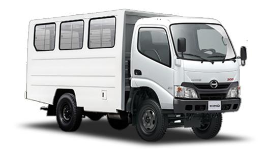 variasi truk hino dutro 300 series