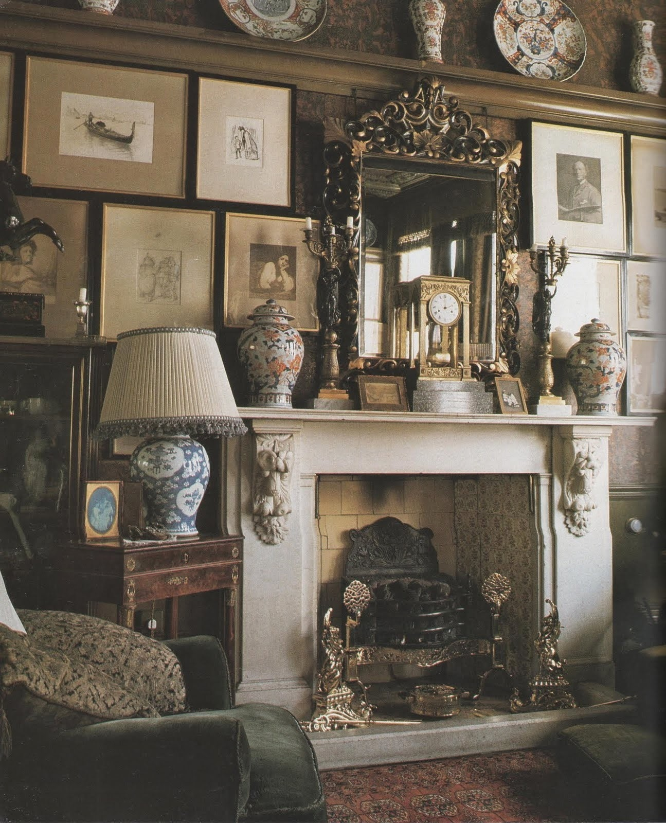 Victorian Drawing Room: Spencer Alley: Old Orphans