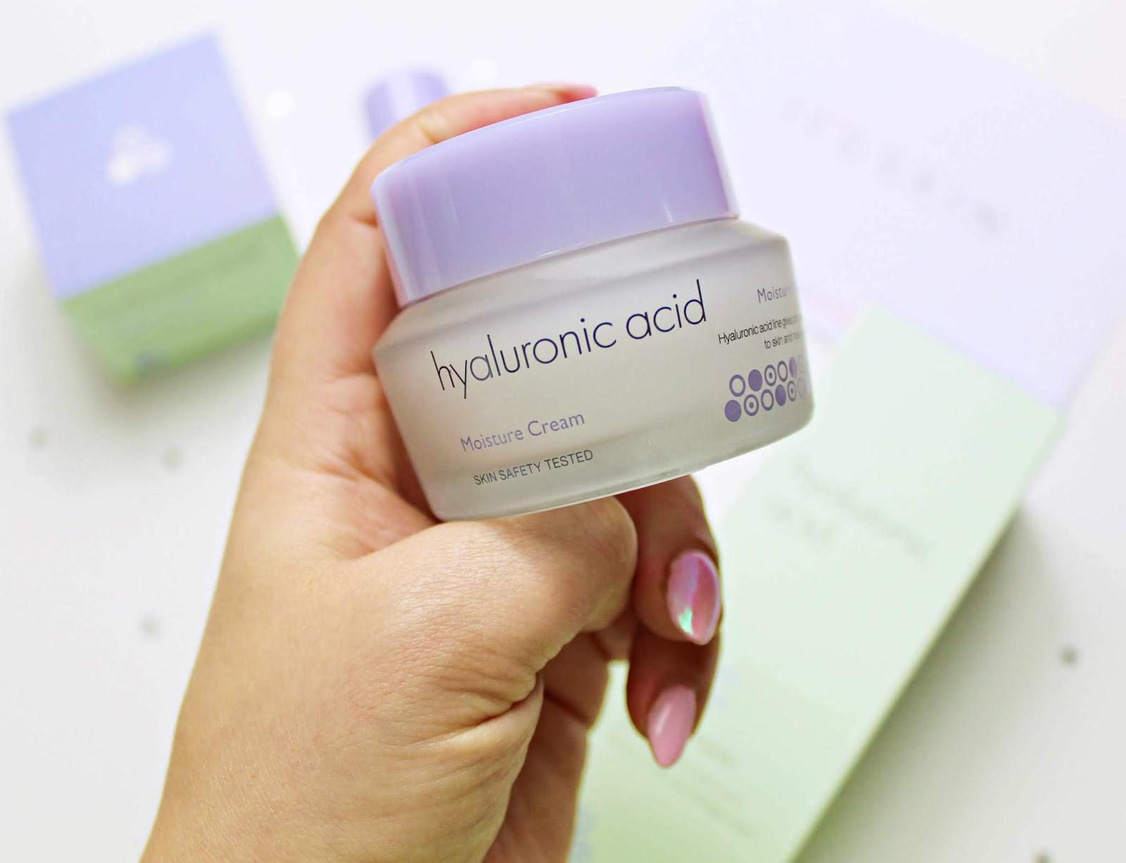 IT'S SKIN Hyaluronic Acid Moisture Cream czyli krem do twarzy z małocząsteczkowym kwasem hialuronowym