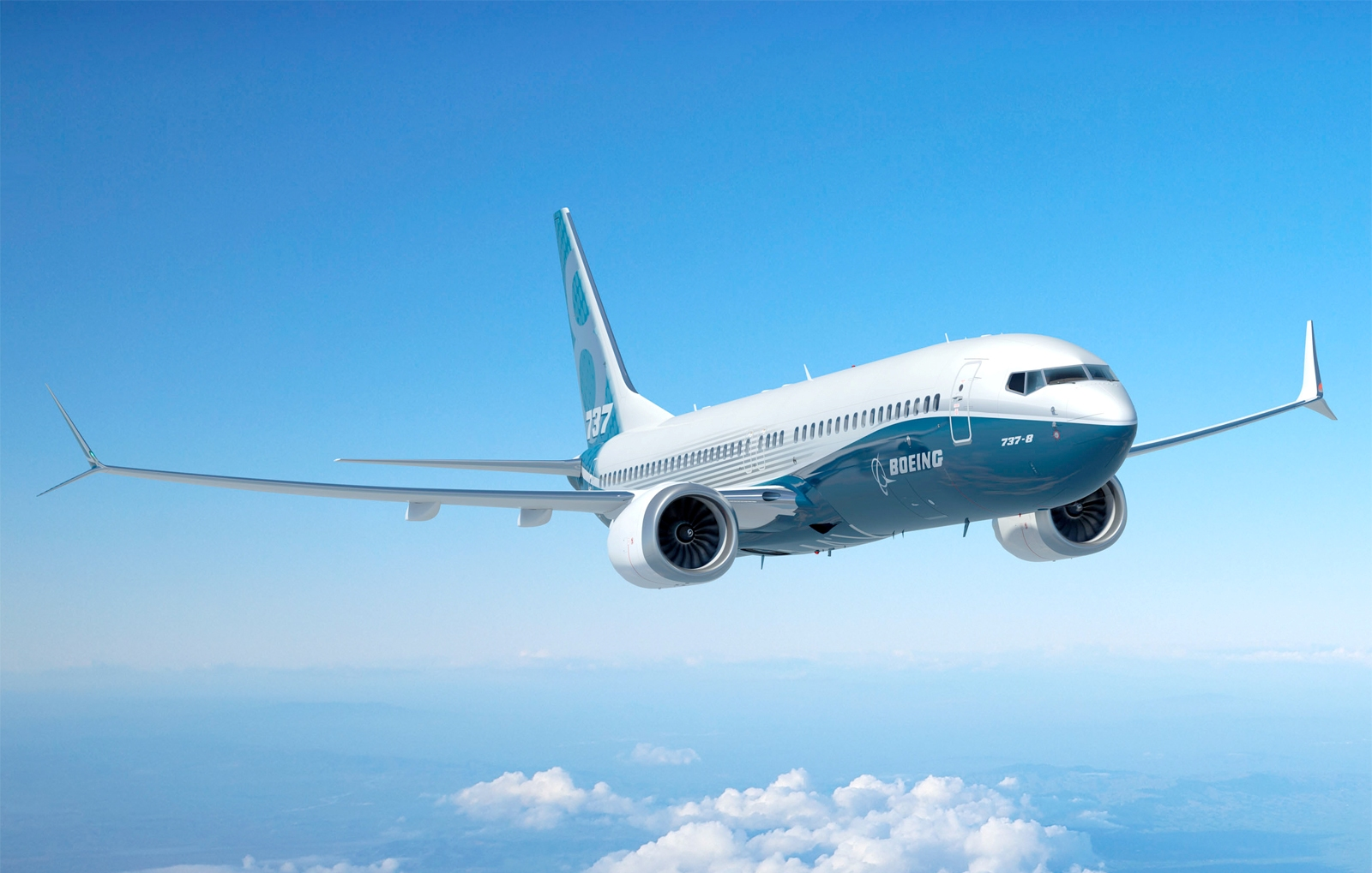boeing 737-8 max with new winglet design aircraft wallpaper 3206