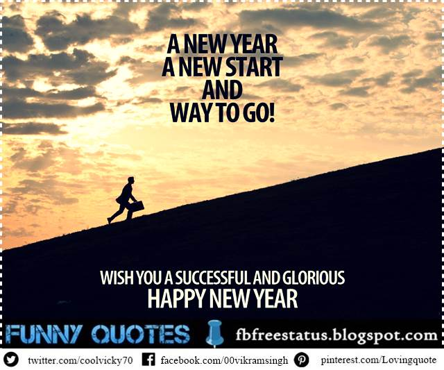 New Year Inspirational and Motivational Quotes and Saying.