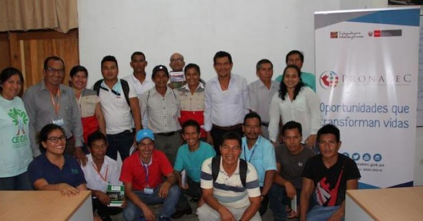 PRONABEC: Dirigentes de comunidades de provincia Ucayali se informan sobre Beca 18 - www.pronabec.gob.pe