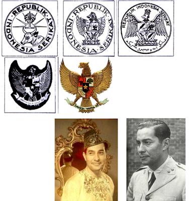 Sejarah Garuda Menjadi Lambang Negara Indonesia     Sultan Syarif Muhammad Alkadrie. Lahir di Pontianak tanggal 12 Juli 1913.Sultan Hamid II wafat pada 30 Maret 1978 di Jakarta dan dimakamkan di pemakaman Keluarga Kesultanan Pontianak di Batulayang. Dalam tubuhnya mengalir darah Indonesia - Arab dan pernah diurus ibu asuh berkebangsaan Inggris. Istri beliau seorang perempuan Belanda yang kemudian melahirkan dua anak –keduanya sekarang di Negeri Belanda. Selain pencipta lambang negara, Syarif yang bergelar Sultan Hamid Alkadrie II dan Sultan ke 8 Pontianak ini juga adalah orang Indonesia pertama yang berpangkat tertinggi di dunia militer, yaitu Mayor Jendral.  Sejarah Kelahiran Lambang Garuda Pancasila sebagai Lambang Negara Indonesia   Setelah Perang Kemerdekaan Indonesia (1945-1949), disusul pengakuan kedaulatan Indonesia oleh Belanda melalui Konfrensi Meja Bundar pada tahun 1949, dirasakan perlunya Indonesia (pada saat itu masih bernama Republik Indonesia Serikat) untuk memiliki lambang negara. Tanggal 10 Januari 1950 dibentuk Panitia Teknis dengan nama Panitia Lencana Negara di bawah koordinator Menteri Negara Zonder Porto Folio Sultan Hamid II yang ditugaskan Presiden Soekarno untuk merencanakan, merancang dan merumuskan gambar lambang negara; dengan susunan panitia teknis : Muhammad Yamin sebagai ketua, dan beranggotakan Ki Hajar Dewantara, M A Pellaupessy, Moh Natsir dan